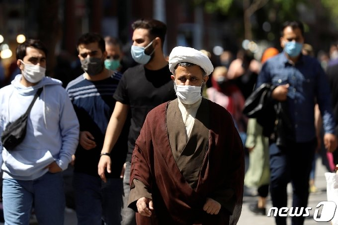 이란 테헤란로의 2021년 3월 30일(현지시간)모습. © 로이터=뉴스1