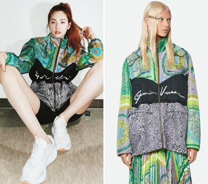 나나, '391만원' 점퍼+밀착 레깅스 패션…어디 거?