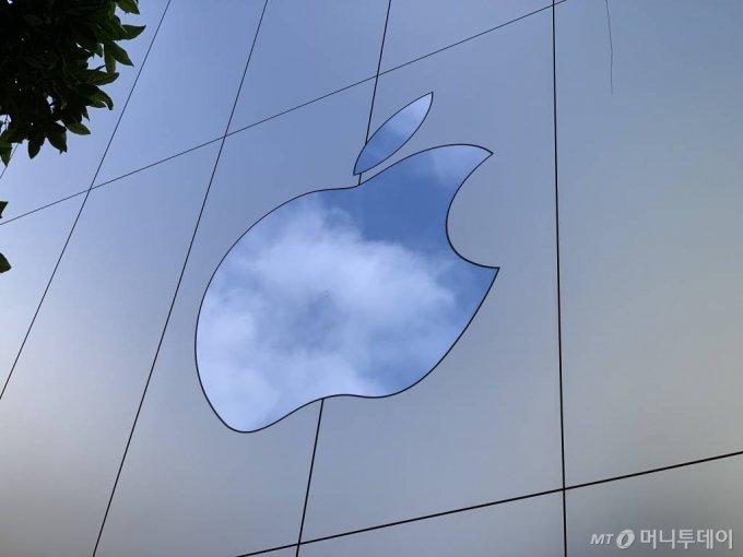 미국 샌프란시스코에 위치한 애플 유니언 스퀘어 매장 /사진=박효주