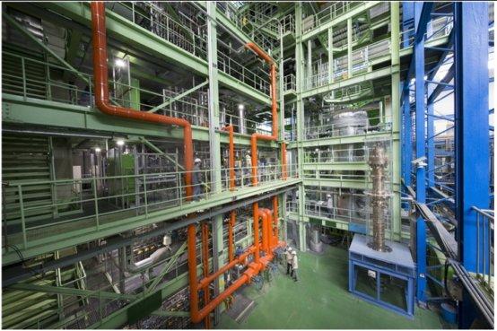 한국원자력연구원이 자체 기술로 설계해 운영 중인 '가압경수로 열수력 종합효과실험장치'인 아틀라스(ATLAS)를 이용해 국제공동연구를 수행한다 ./사진제공=한국원자력연구원