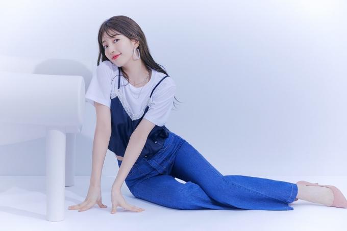 가수 겸 배우 수지/사진제공=게스(GUESS)