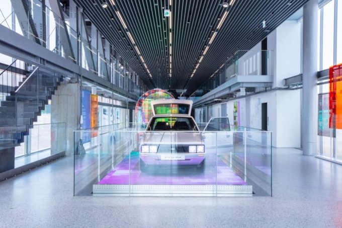 현대모터스튜디오 부산 전시공간/사진제공=현대차