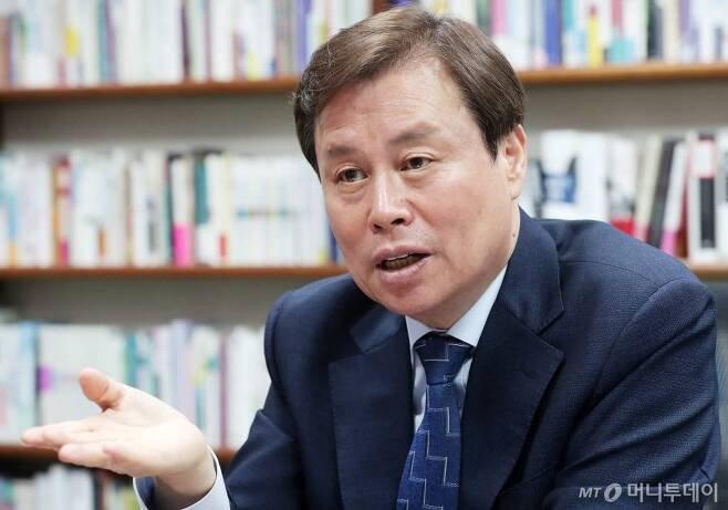 도종환 더불어민주당 의원 인터뷰 /사진=김창현 기자 chmt@