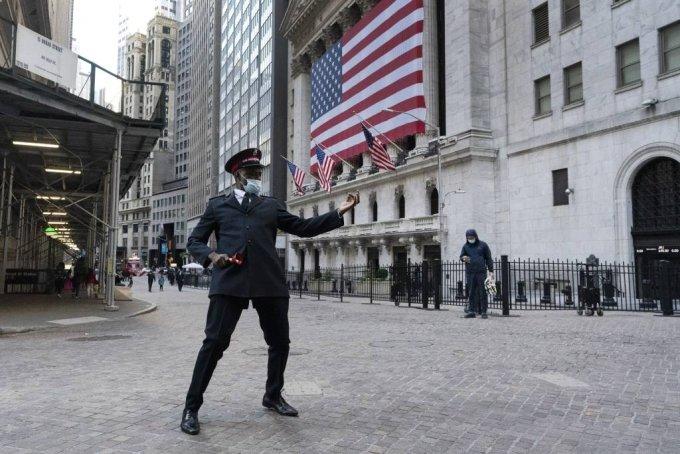 미국 뉴욕의 뉴욕 증권거래소 /사진=[뉴욕=AP/뉴시스]1