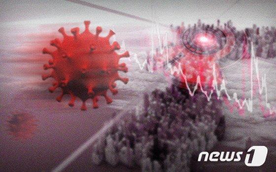 코로나19 바이러스 이미지./이은현 디자이너 © 뉴스1