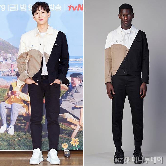 임시완 vs 모델, 걸친 재킷만 '123만원대'…