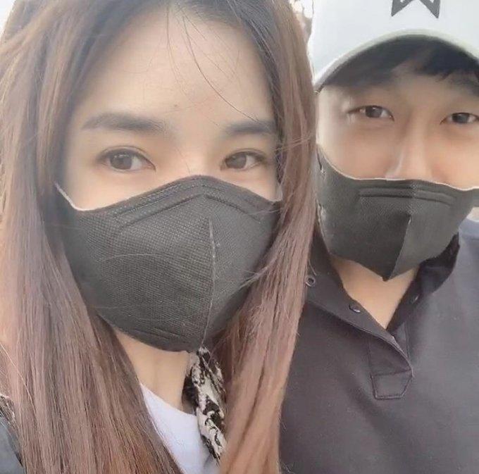인민정(왼쪽), 김동성 / 사진=인민정 인스타그램