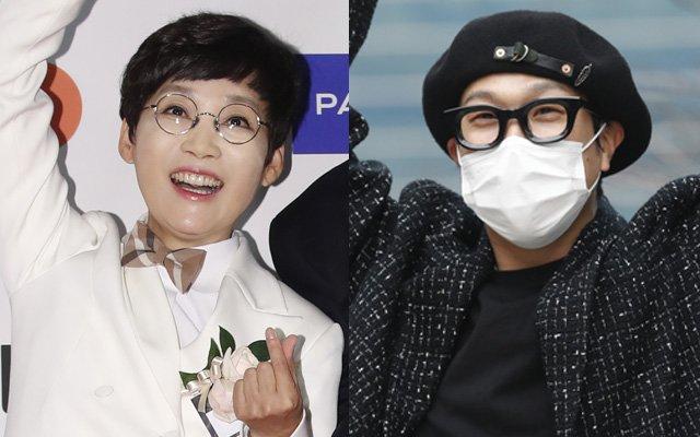 팽현숙(왼쪽) 하하 /사진= 뉴스1