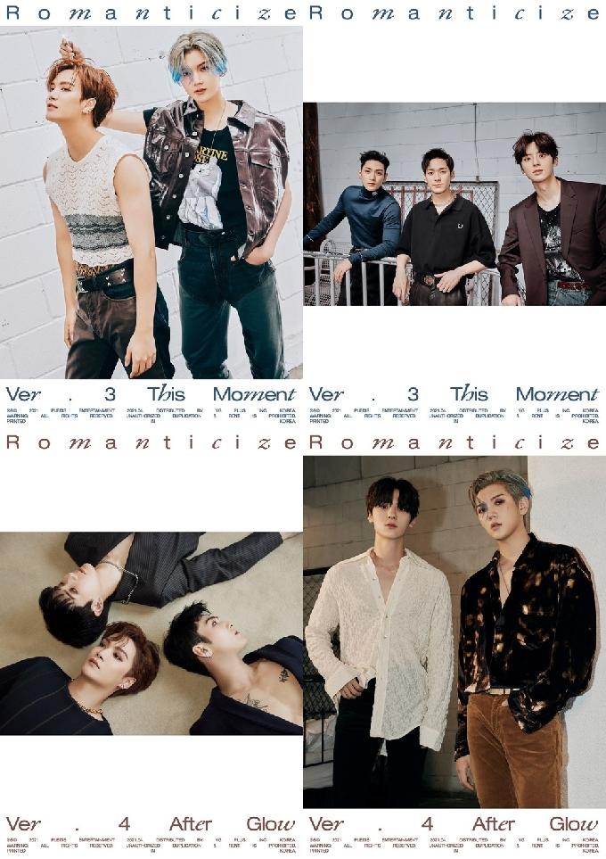 뉴이스트, '로맨티사이즈' 오피셜 유닛 티저 공개…명화 같은 비주얼