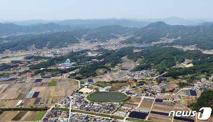메가폴리스 산업잔지.(괴산군 제공)© 뉴스1