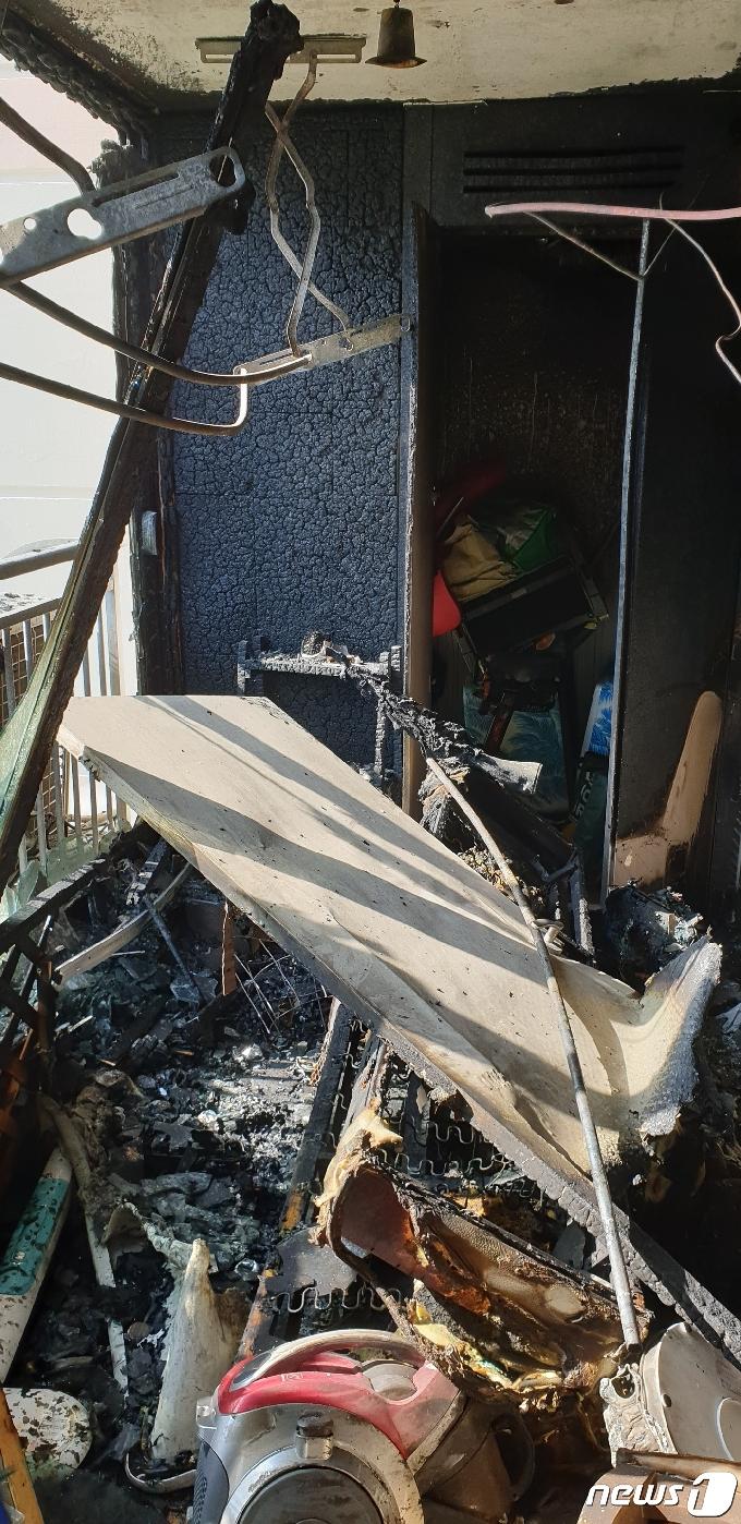 진해 한 아파트서 불