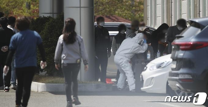 [사진] 울산 자동차 부품업체 직원 15명 집단 감염