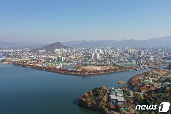 강원 춘천 전경.(춘천시 제공) © 뉴스1