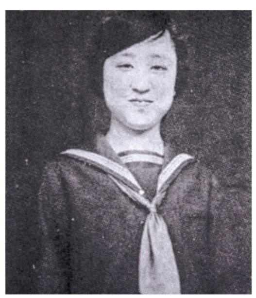 덕혜옹주의 고교 시절 사진. /사진제공=도서출판 행복에너지