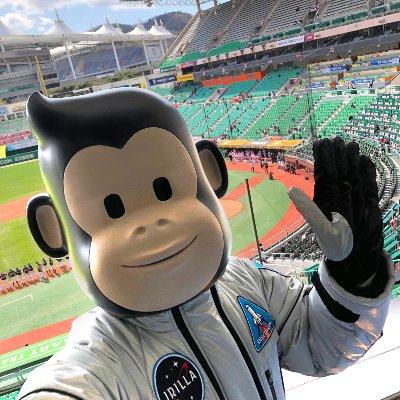 신세계푸드가 지난 4일 야구장에서 선보인 캐릭터 제이릴라/사진= 제이릴라 인스타그램