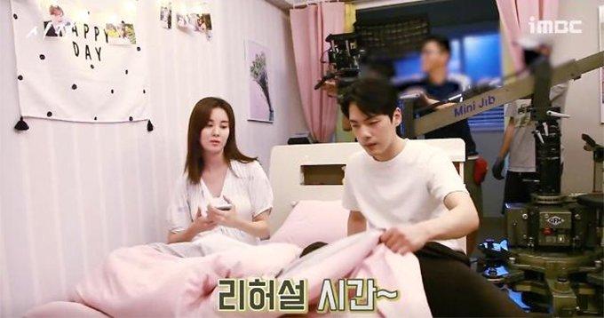 /사진=MBC '시간' 비하인드 영상
