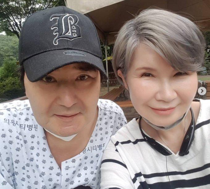 유노 김승미 부부/사진=김승미 인스타그램