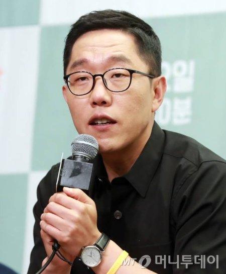 방송인 김제동/사진=임성균 기자