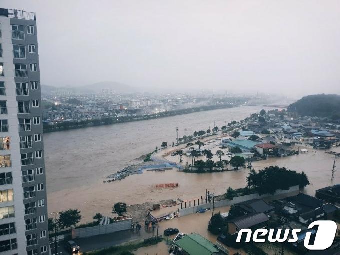 남원시, '섬진강 방류 수해' 3개면 피해산정조사 착수