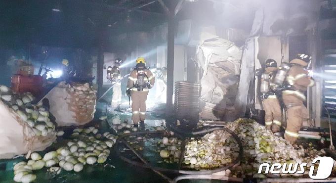 제주 구좌읍 농산물 창고서 화재…3400만원 재산 피해