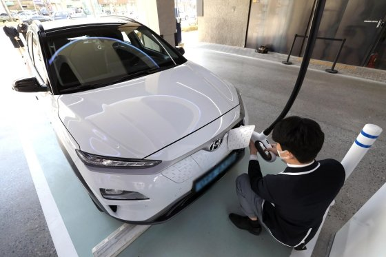 코나 일렉트릭/사진제공=현대차
