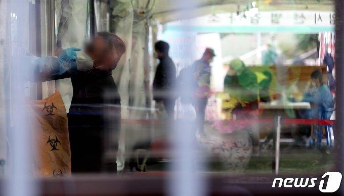 13일 충북에서 코로나19 확진자 28명이 추가 발생했다. 뉴스1 © News1