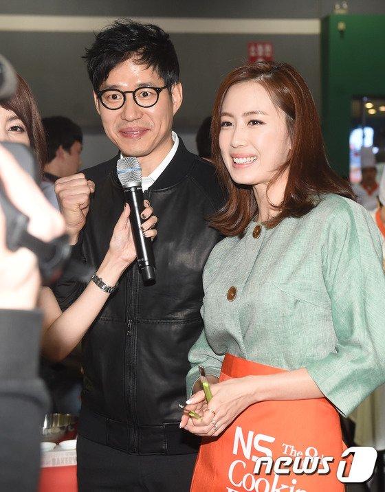 배우 유준상 홍은희/© News1