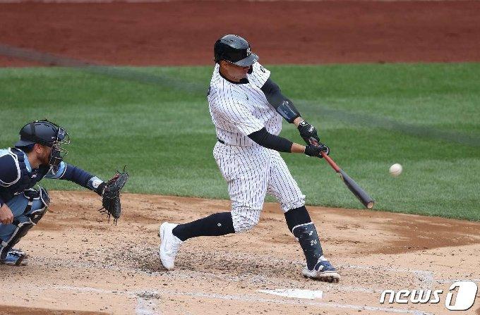 게리 산체스가 뉴욕 양키스의 4번타자로 나선다. © AFP=뉴스1