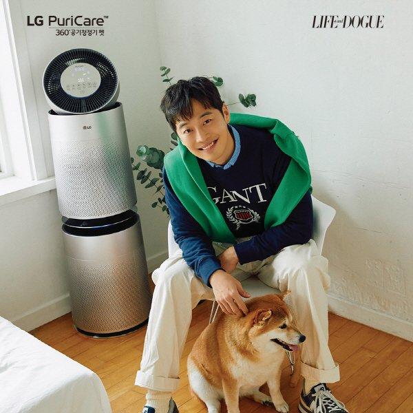 LG전자, 'LG 퓨리케어 360도 공기청정기 펫 플러스' 기부 이벤트