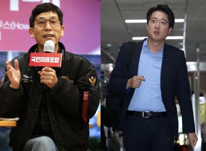 /사진=진중권 전 동양대 교수(왼쪽), 이준석 전 국민의힘 최고위원(오른쪽)