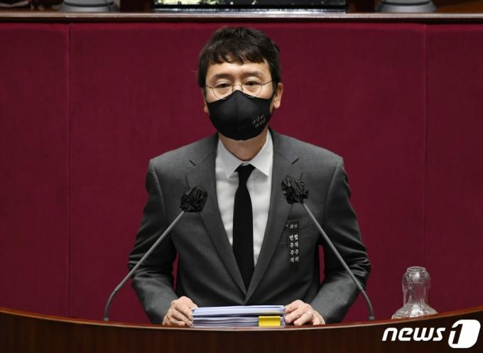 김웅, 초선들 앞에서 당대표 출마의지…