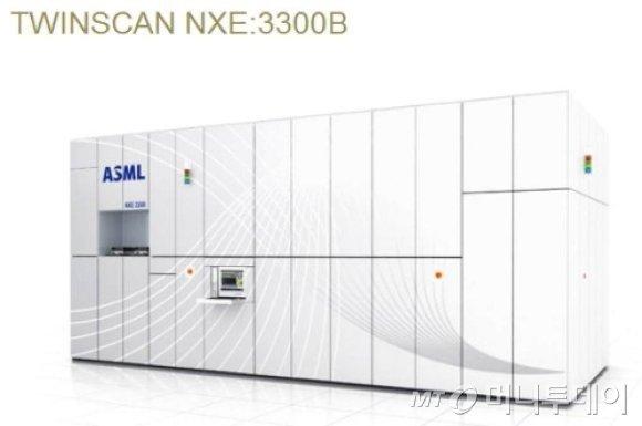 네덜란드 반도체 장비회사인 ASML의 극자외선(EUV) 노광기NXE3300B./사진=ASML 홈페이지 캡처
