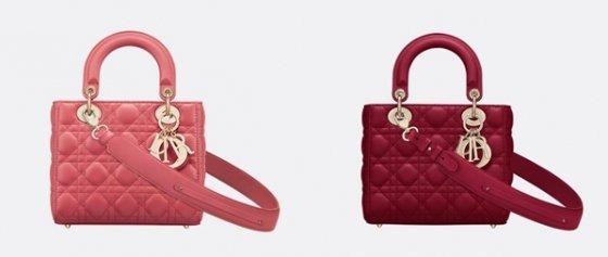 디올(Dior)의 스몰 레이디디올백/사진=디올 공식 홈페이지