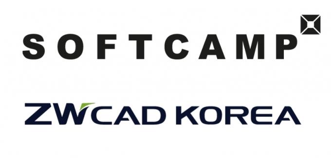 소프트캠프, ZW캐드코리아 전략적 업무협약 체결