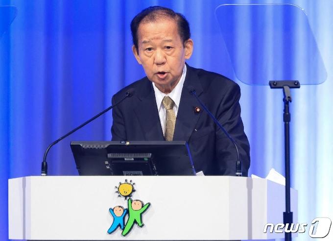 日 니카이 자민당 간사장, 도쿄올림픽 취소 가능성 언급(상보)