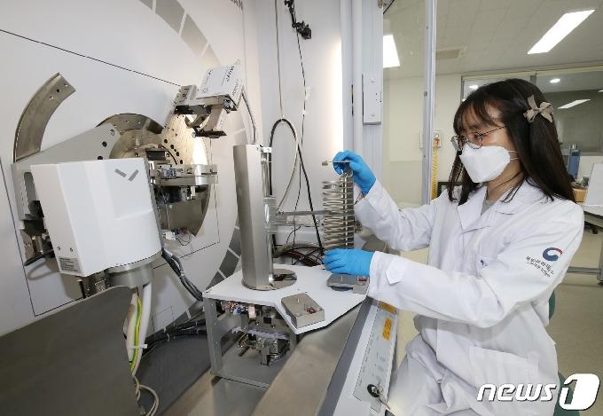 [사진] X선분석실 XRD 장비, 광물종류 분석