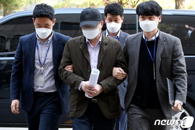 '동화마을 땅 투기' 인천 중구청 공무원 영장심사 출석 '묵묵부답'