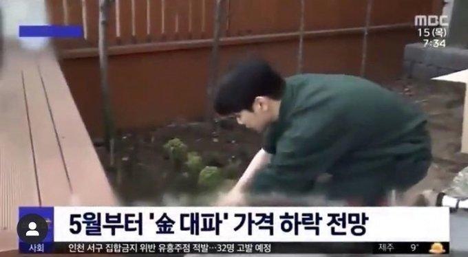 MBC 뉴스에 나온 샤이니 키 / 사진=키 인스타그램