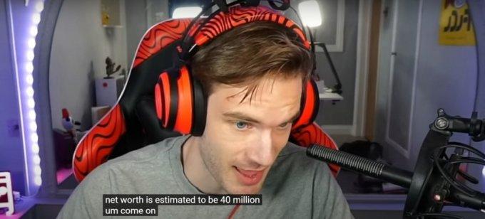 세계에서 처음으로 유튜브 구독자 1억명을 돌파한 스웨덴 출신 비디오 게임 전문 유튜버 '퓨디파이'(PewDiePie)의 재산이 450억원 이상이라는 소식이 공개됐다. /사진=퓨디파이 유튜브 영상 캡처