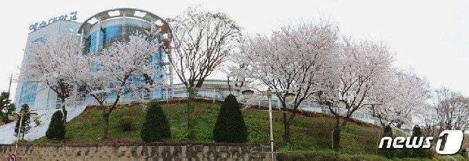 전북 전주시 완산구에 위치한 예수대학교 전경./© 뉴스1