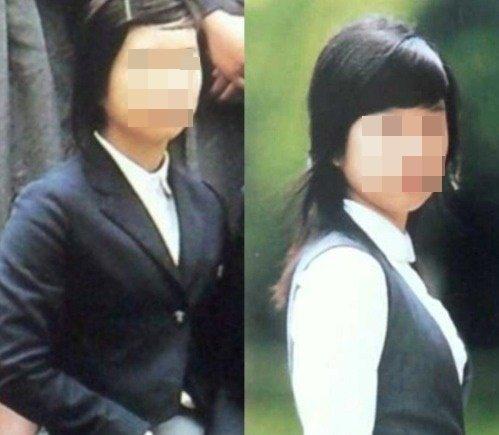누리꾼들이 배우 서예지의 졸업사진으로 추정하고 있는 사진. (온라인 커뮤니티 갈무리) © 뉴스1
