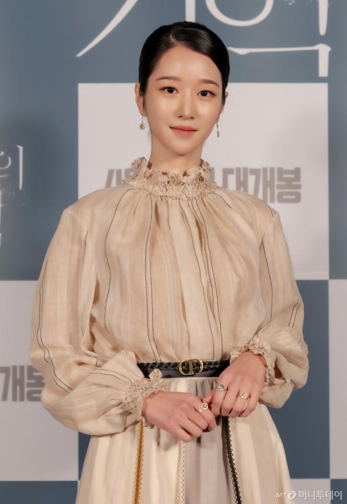 배우 서예지 /사진제공=CJCGV