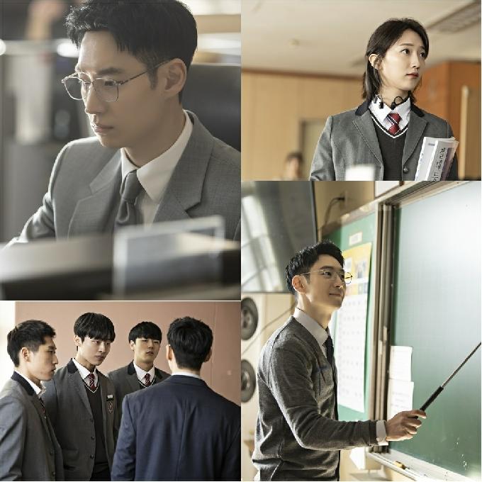 [N컷] '모범택시' 이제훈, 훈훈 기간제 교사→일진 참교육 예고