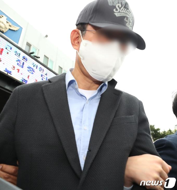 [사진] 공무원 A씨 검찰 송치 현장