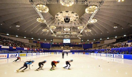 2017년 2월20일 일본 삿포로 마코마나이 실내빙상장에서 2017 삿포로 동계아시안게임 쇼트트랙 남녀 1500m 예선이 펼쳐지고 있다. 기사와 직접적인 관계없음./사진=뉴스1
