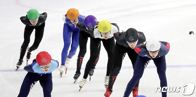 [사진] 쇼트트랙 여자 3000m 결승