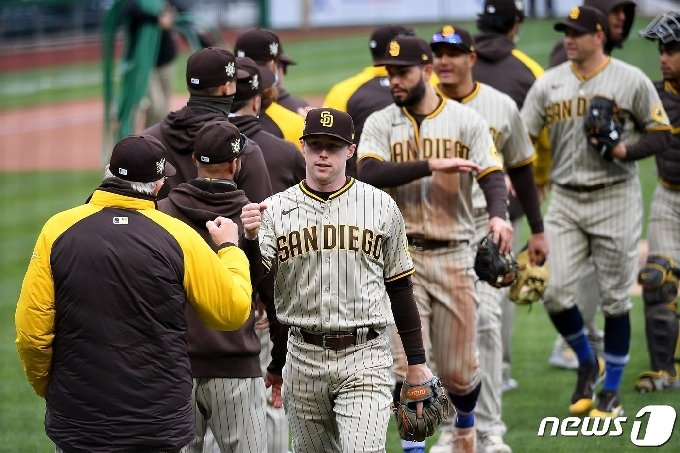 다저스 아성에 도전하는 샌디에이고 © AFP=뉴스1