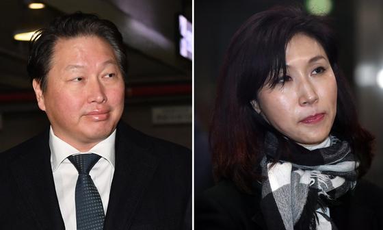 최태원·노소영 '1조원대 이혼소송' 내달 재개