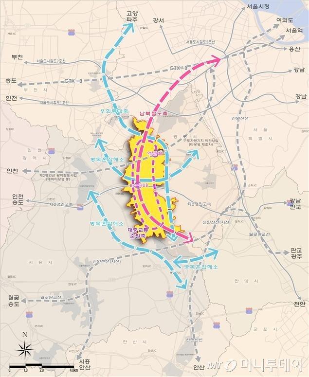 광명시흥지구 교통대책(안) /자료=국토교통부
