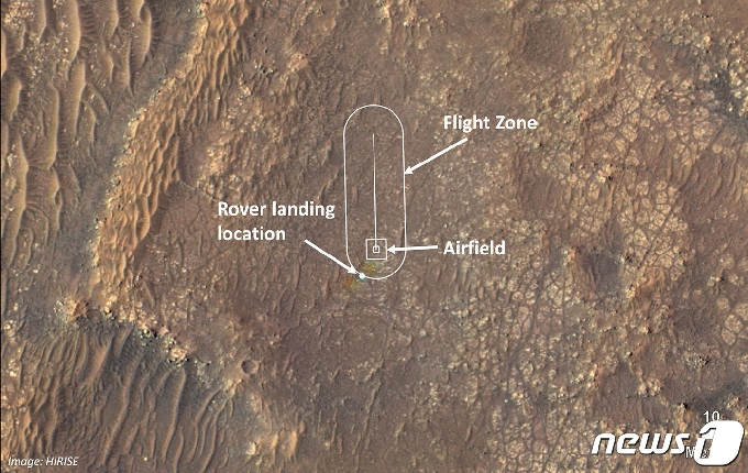 화성 하늘에 첫 비행기 띄운다…19일 헬기 '인저뉴어티'